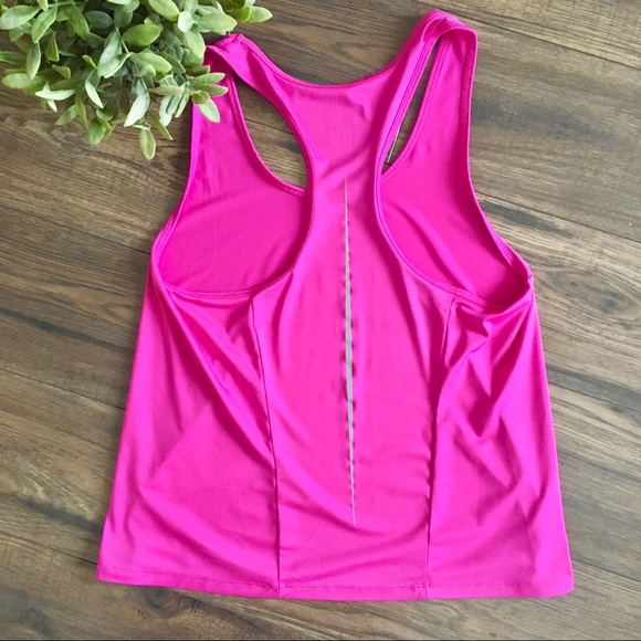 Athletic Works Bright Pink Racer Back Tank Top